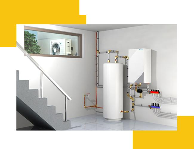 Le fonctionnement d'une pompe à chaleur air-eau
